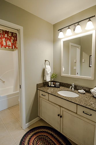 One-Room Suite - Cottage Bathroom